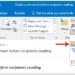 Delete Sent Mail with MS Outlook